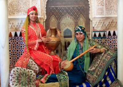 chicas-India